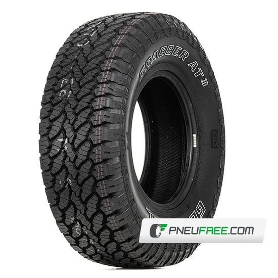 Mais detalhes do pneu LT255/70R16 10 Lonas 120/117S GRABBER AT3 GENERAL TIRE