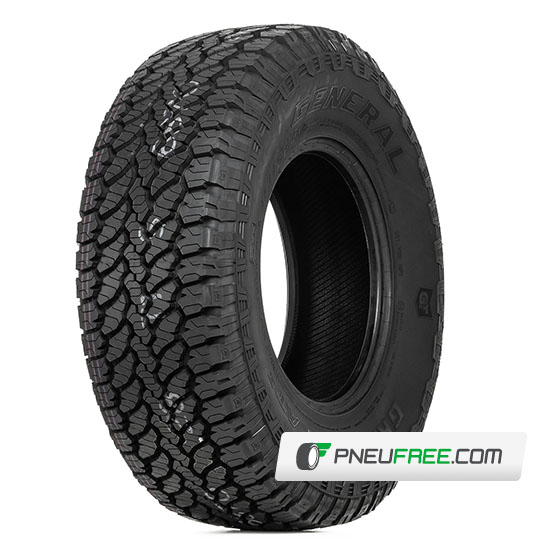 Mais detalhes do pneu LT235/70R16 8 Lonas 110/107S GRABBER AT3 GENERAL TIRE