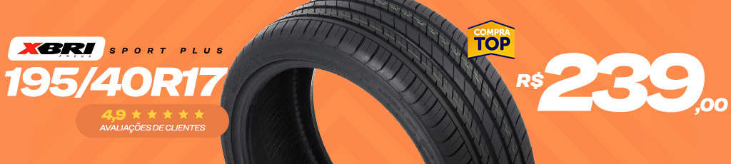 XBRI - SPORT PLUS - 195/40R17 - COMPRA TOP
